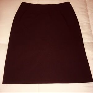 New York & Co. Eggplant Pencil Skirt - 2
